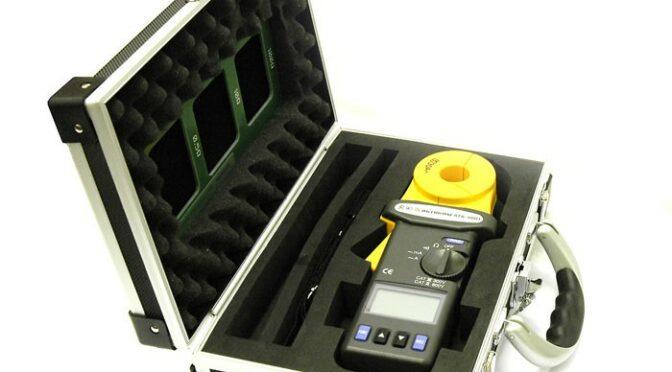 Измеряем сопротивление заземления токовыми клещами.